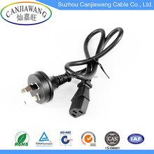 High quality Australian standard three/3 pin power cord