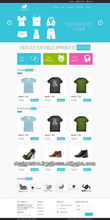 wholesale online store website Design