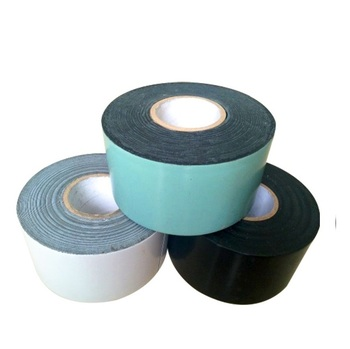 Black and white color polyethylene cold applied tape for wrapping gas pipe