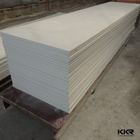 White snow artificial surface polystone solid surface