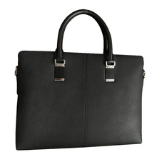 Genuine leather briefcase for phone and ipad
