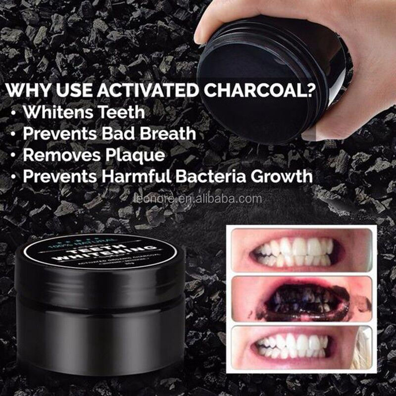 OEM/ODM Professional Activated Charcoal Teeth Whitennig Powder