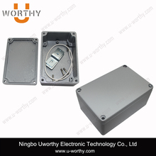 Aluminum Waterproof Electrical Outlet Box 120*80*55mm