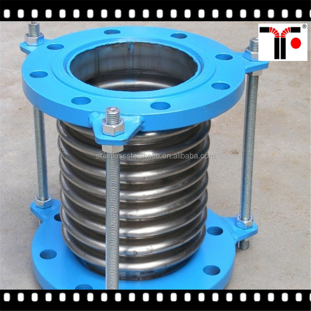 Pipeline flexible flange type rubber compensator/rubber expansion joint
