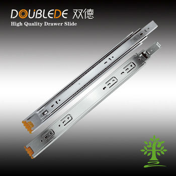 Ball bearing soft closed slide & ball bearing telescopic slide