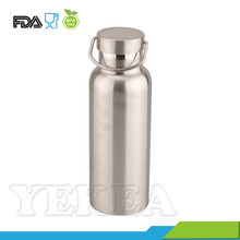 Double Wall Stainless Steel Thermo Bottle 500ml with Cap