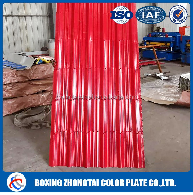 High Quality color coated metal sheet