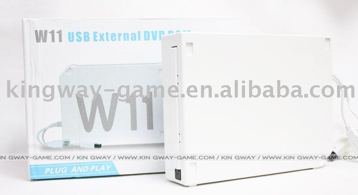 For Wii USB External DVD ROM