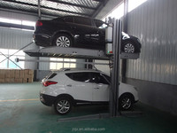 Cheap price 2 post car parking lift system garage used