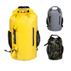 Quality Tarpaulin Waterproof Kayak Deck Dry Bag Backpack for Camping Hiking