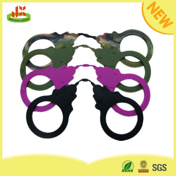 Hot selling and eco-friendly silicone toys manacle