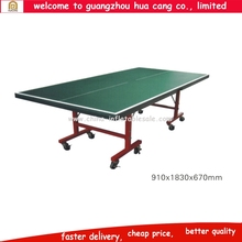 2016 hot selling Table Tennis Table Portable Pingpong Table