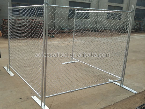 AS4687-2007 removable temporary galvanized steel security fence panels