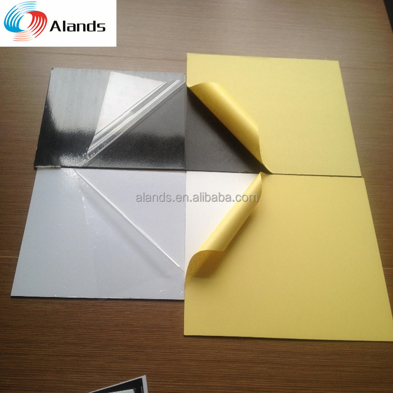 both sides self adhesive pvc sheet manufacturer for photo album