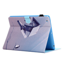 New Arrvial TPU Leather Printing Flip cover For Ipad Air2 9.7 Tablet Case