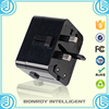 Factory cheap price all in one usa aus uk eu schuko usb adapter plug, type E/F