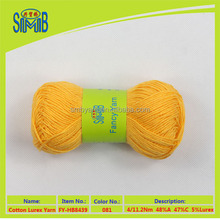 china oeko tex fancy yarn producer shingmore whole seller for cotton acrylic dyed yarn with lurex for knitting