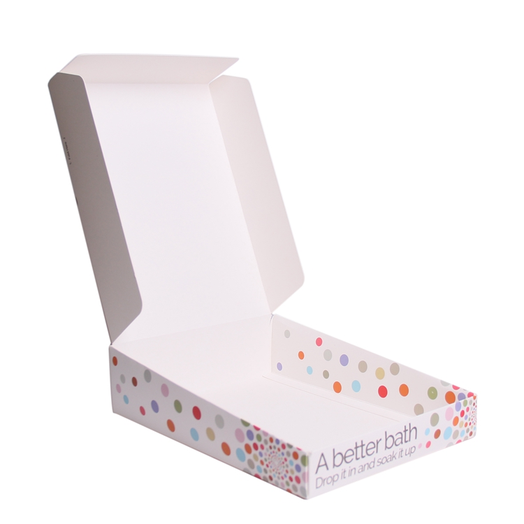 Fancy low cost making pack 300 gsm a4 size paper box packaging without glue