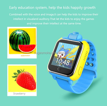 latest fashion 2g&3g kids gps tracking phone smart watch G30 care about kids ,one key for SOS