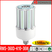 Ul Cul Dlc Listed Waterproof 100-277V E27 E39 E40 36W 50W Smd Led Corn Bulb Street Light