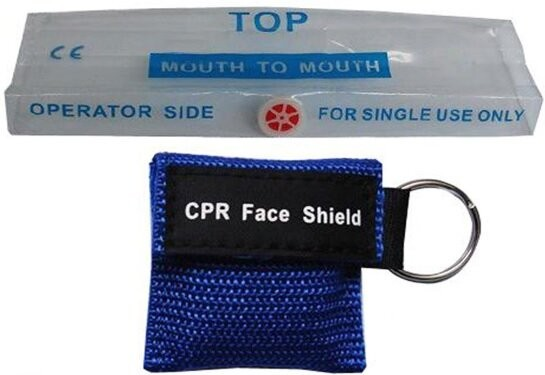 2017 new product promotional gift cpr face shield with glove for mouth to mouth mask cardiopulmonary resuscitation mask