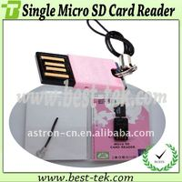 USB 2.0 Micro SD Card Reader