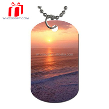 2015 Stainess Steel Dog Tag With Rubber Bumpers
