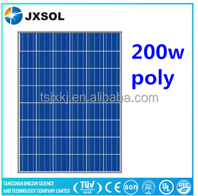 photovolatic solar panel pv module 200w poly solar panel for solar power plant