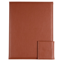 Good Quality Handmade Brown Leather A4 Size File Folder Custom