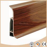 Vinyl skirting board