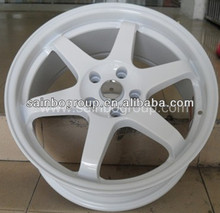 Personalized Style White Alloy Wheel 5 hole ARYS for car