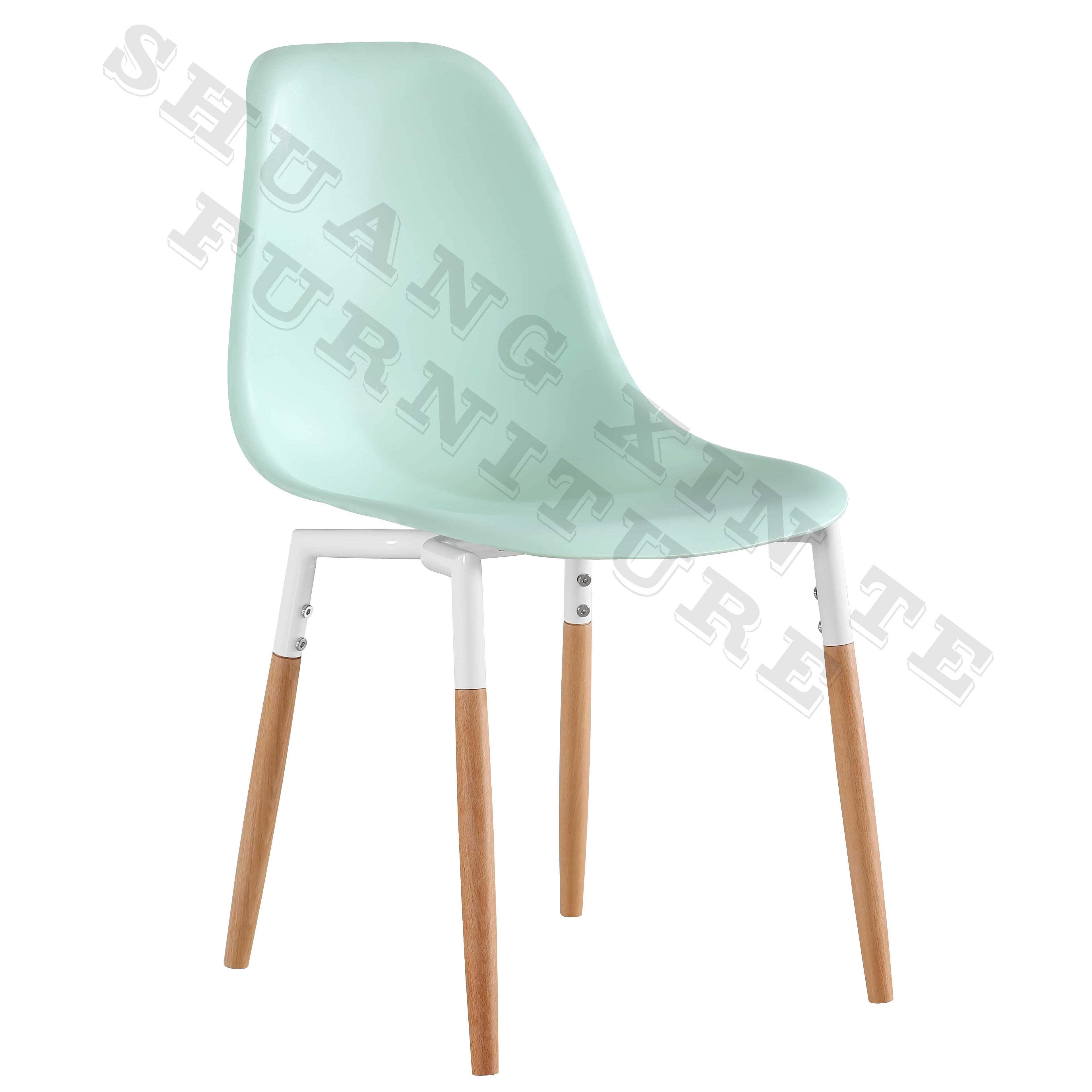 Newly designed lower-priced interior furniture with sturdy wooden chair legs