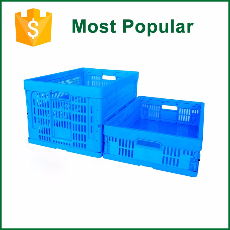 Square Collapsible Mesh Type Folding Packing Crates