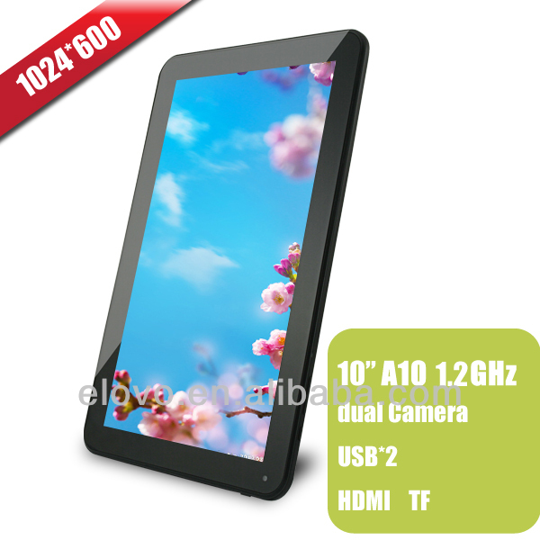 factory price 10.1 inch Allwinner tablet 1024*600 support wifi