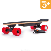 Electric longboard 4 wheels skateboard with 30v 10ah lithium battery