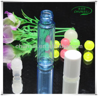 2015 new product colorful plastic OEM roll-on 3ml men perfume bottle