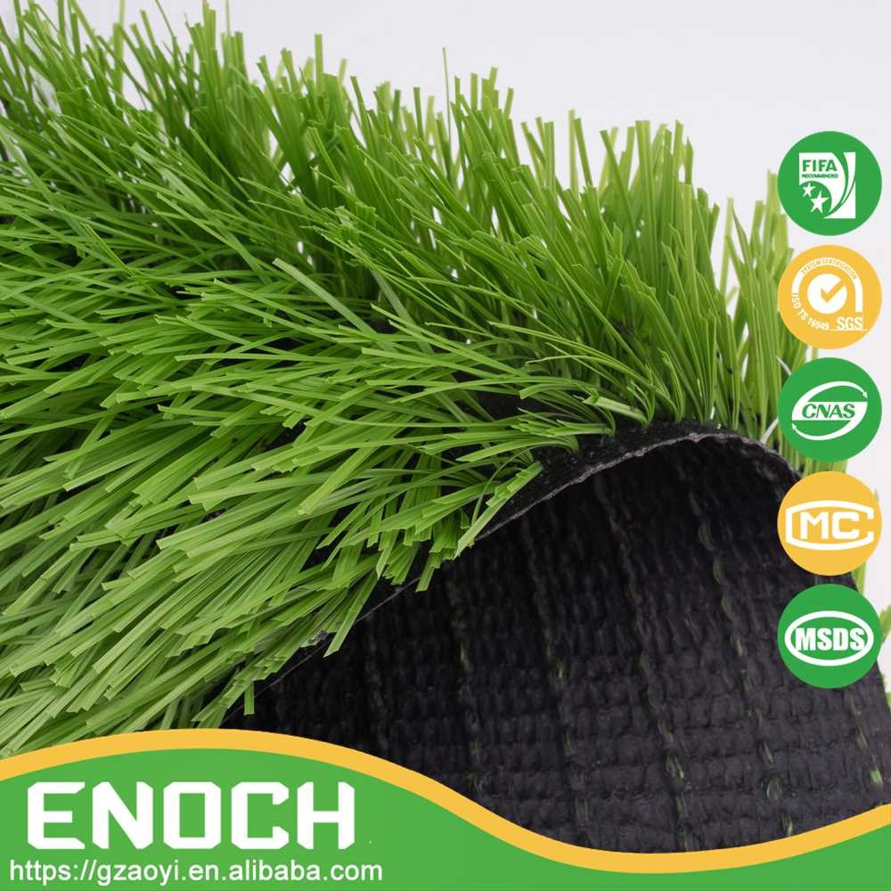 UV-stability Japanese Natural Artififcial Grass Cover For Soccer Pitch