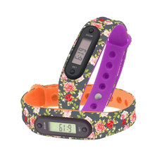 New design wrist pedometer watches for ladies
