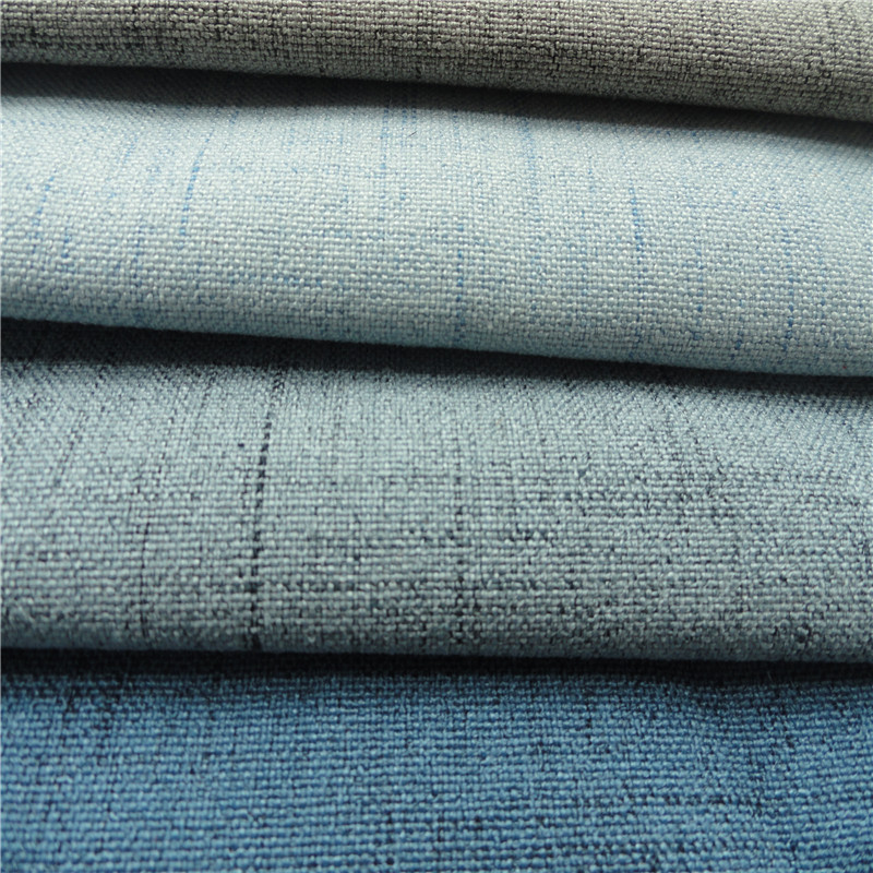 2017 best selling imitation linen for sofa and upholstery fabric
