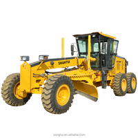 road machinery chinese 160hp 15.4ton shantui sg16-3 small motor grader for sale