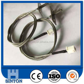 Right-angle shape PT100 temperature sensor