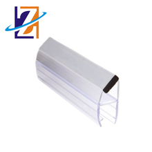 China Made Shower Room Glass Door Waterproof Plastic Magnetic Seals Strip