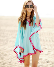 2016 New Style Plus Size Tassel Beach Cover Up Beachwear