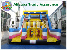 high quality inflatable obstacle slide,inflatable climbing wall slide,obstacle course
