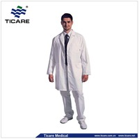 White Doctor Uniform with collar ,Doctor working Uniform