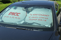 high quality Roll Up Car Sun Shade Car Folding Sun Shade car cover