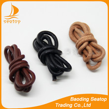 10mm 6mm 3mm round leather cord wholesale