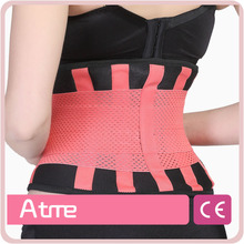 Textile Neoprene Weight Lifting Waist Pain Treatment Promotion Lumbar Traction Belt