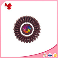 Fashion jewelry New product traceless headwear/elastic hair band/telephone wire hair ring gum hair accessories