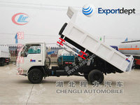 second hand dongfeng dump truck for sale with capacity of 3ton